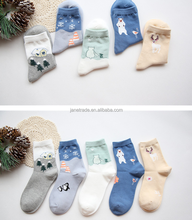 2017 new design Girl Women's Christmas Casual Ankle Cotton Socks Warm Snowflake gifts