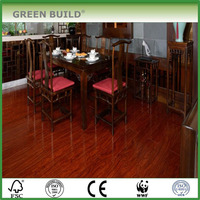sandalwood solid wood hardwood flooring for drawing room