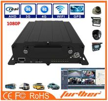 4 channels Mini Size 1080P SD Card inforade night vision 720p hd car dvr support GPS+3G