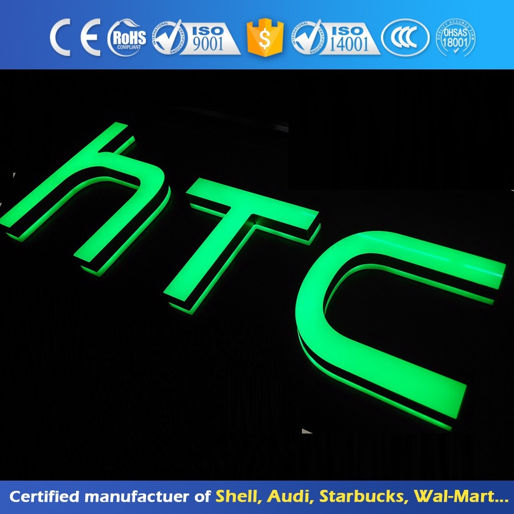 outdoor large acrylic light up marquee led letters for advertising