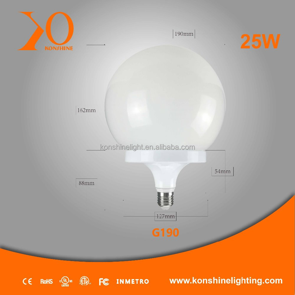 15W/20W/25W 90-260V E26/E27/B22 LED Globe Shape LED Bulbs/Lights/Lamps/ LED Lighting