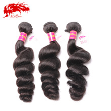 Unprocessed virgin Brazilian human hair extension different types of curly weave hair