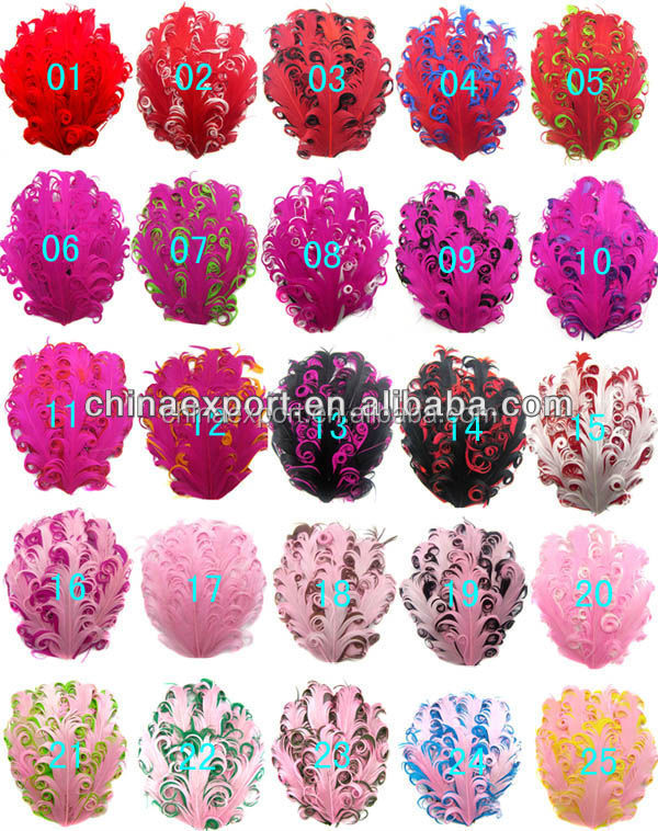 In Vogue !! Hot Sale DIY Hair Accessories With Big Flower Baby Feather Headband For Sale