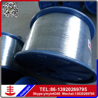 Black Steel Wire For Nail Making / galvanized steel wire/black iron wire 14