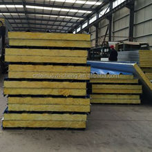 Aluminum Composite Fiber Glass Wool Steel Sandwich Panel for roofs and partitions