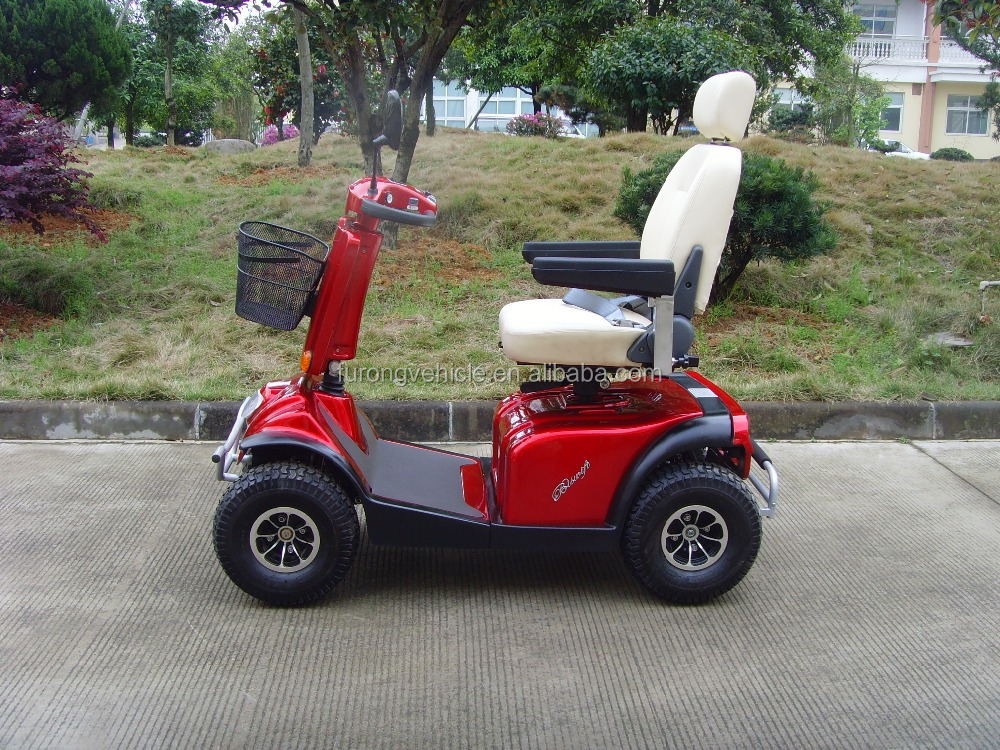Heavy duty 4 wheel 1000W motor power Mobility Scooter for handicapped