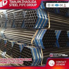 ASTM A795 hot drawned carbon welded pipe black round pipes steel tubular for sale with price list