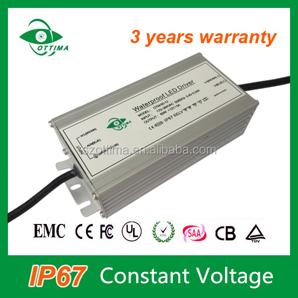 Shenzhen manufacturer 60W power supply for 5050 smd led strip power supply 12v 5a