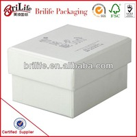 High Quality Fashion White paper small box Shanghai