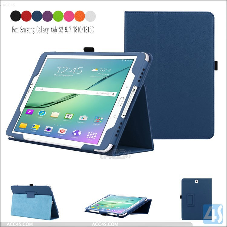 "New best selling top quality for Samsung Galaxy TAB S2 9.7"" case,ultra-thin pu leather tablet case for Samsung TAB S2 9.7"