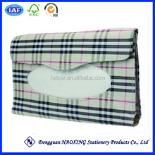 car tissue box cover/tissue box holder for car/great car tissue box