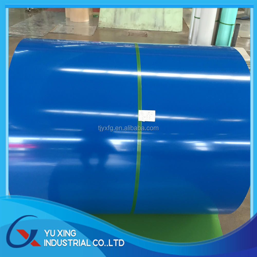 Long Span Color Coated Corrugated Roofing Sheet / PPGI corrugated roofing sheets /Color Coated Metal Roof Sheet