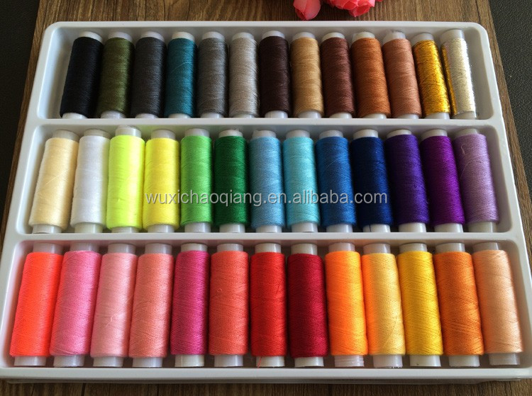 six strands,sewing thread raw material,printed cotton fabric thread