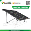 easy installation roof and ground solar panel mounting structures system