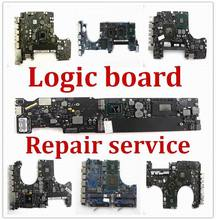 Logic Board Repair Service for MacBook Air A1466 A1502 A1534 Pro A1278 A1286
