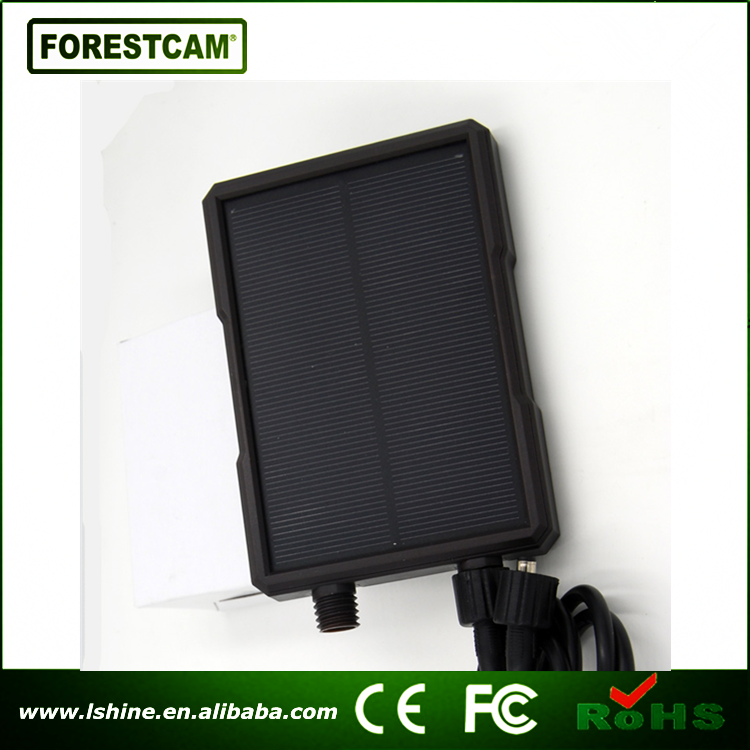 Forestcam hunt camera trail game camera solor panel