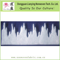 Popular fireproofed White Fringe Icicle for Christmas Decoration