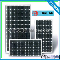 12v 270w mono solar panel cheapest from China factory