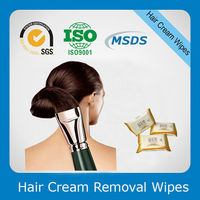 Hair Coloring Cream Cleanse Wet Tissue