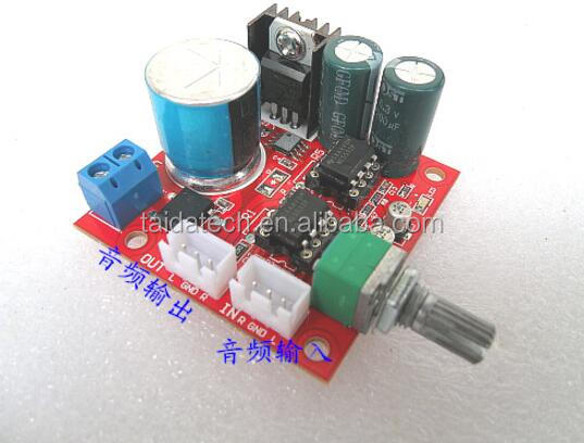 Mono power supply preamplifier board with volume adjustment dual NE5532 amplifier circuit Musical fidelity <strong>a1</strong>