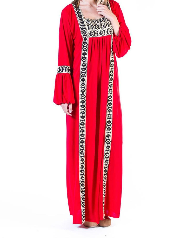 Long Sleaves Dubai Made Designer Islamic Dress GUS012