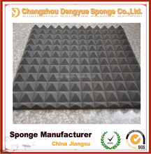 Black Polyurethane Damping Foam Soundproofing Material Sound Absorber Acoustic Sponge&Foam