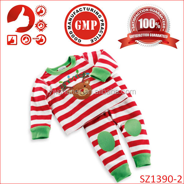 Wholesale kids clothing free shipping cheap xmas kids trendy clothing China kids new year gift clothing