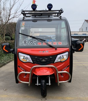 The latest mini fully enclosed passenger tricycle electric recreational tricycle for the aged
