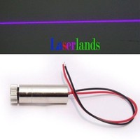 Focusable Line 20mW 405nm Blue Violet Laser Diode Module Blu-Ray Industrial