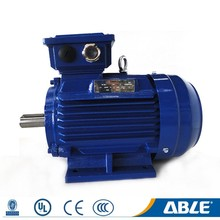 Design aysnchronous customized size frame cast iron 3000rpm 8hp 110v electric motor