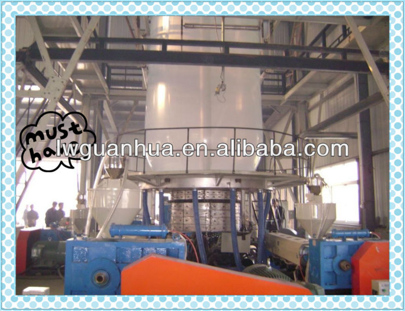 LD1300 one layer plastic agriculture blown film machine