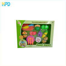 Funny Cutting Toy Kitchen Cooking Play Sets for Girls Toys