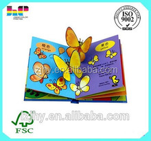 Wholesale china coloring cardboard 3d children books printing services
