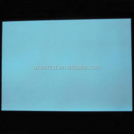 Industrial blue color lcd el backlight can be custom UNLB30241