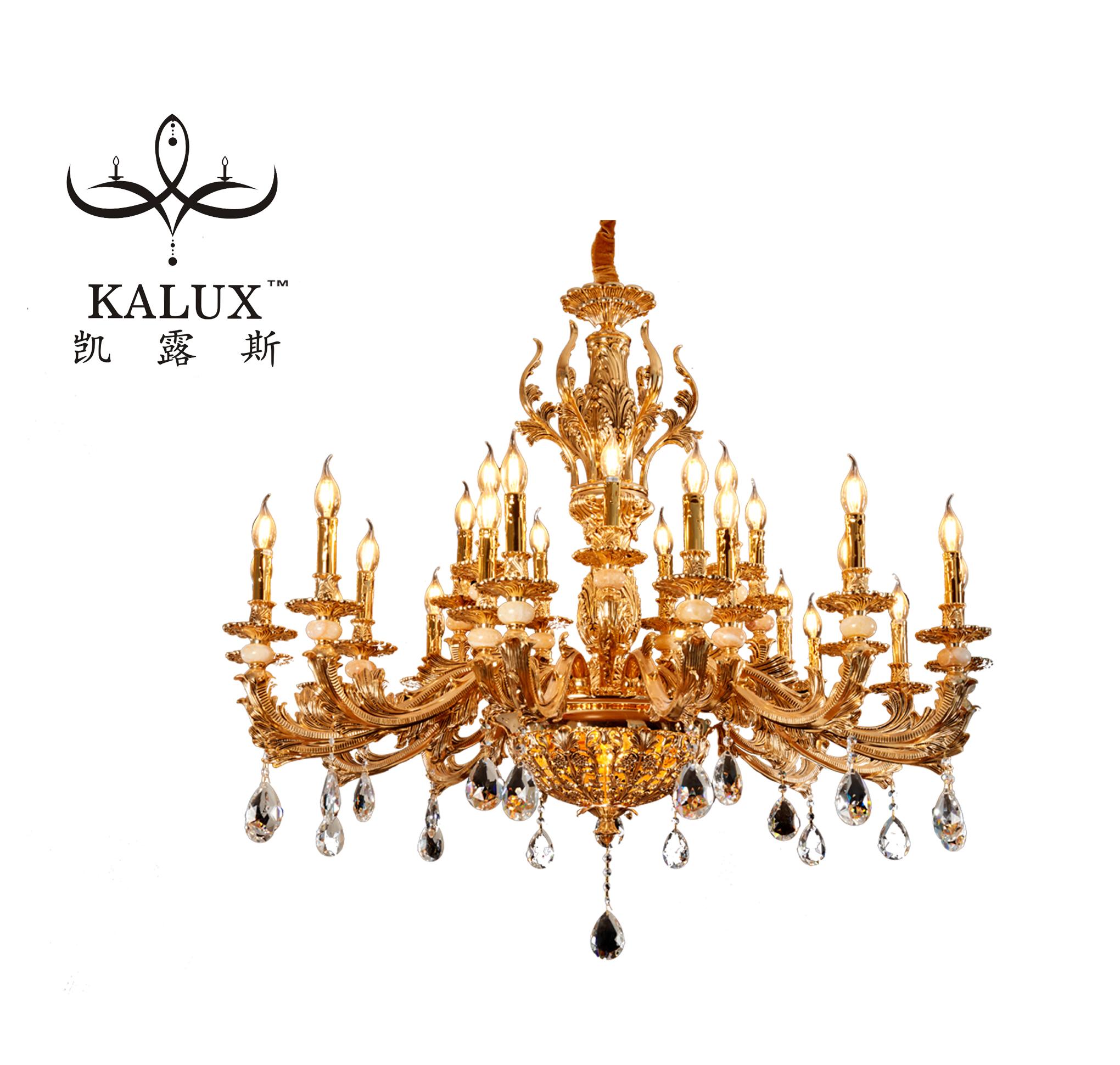 Luxury  crystal chandelier pendant lights for  living room/bedroom/hotel