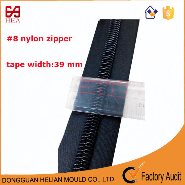 Smoothly and high quality 8# nylon zipper with cheap price