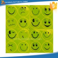 Funny Face 3M High Visibility Vinyl Stickers,Reflective Safety Sticker