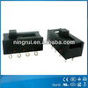 Safety approval electric appliances waterproof multi position slide switch