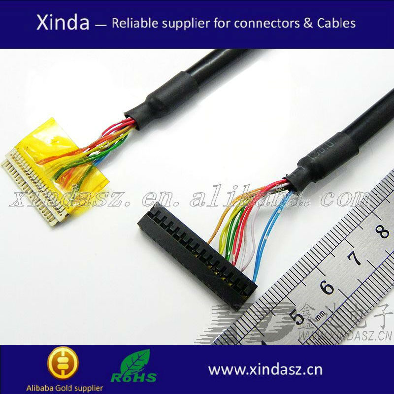 consumables cable parallel wires cables woven wire loom