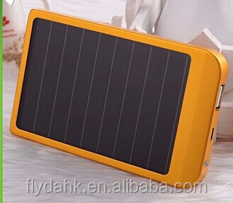 2015 new products portable solar phone charger solar power bank 2600mah power bank