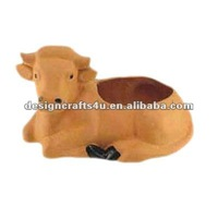terracotta horse flower pot animal