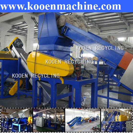 Kooen offer battery recycling machinery
