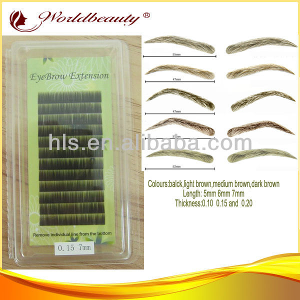 New arrival! Mink Eyebrow Extension;eyebrow filler and eye brow wig