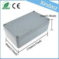 OEM custom extrusion aluminum metal enclosure, aluminum electronics metal case