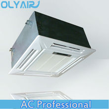 OlyAir T1/T3 50Hz/60Hz Compact Round Flow Ceiling Cassette inverter air conditioner/on-off available 48000btu