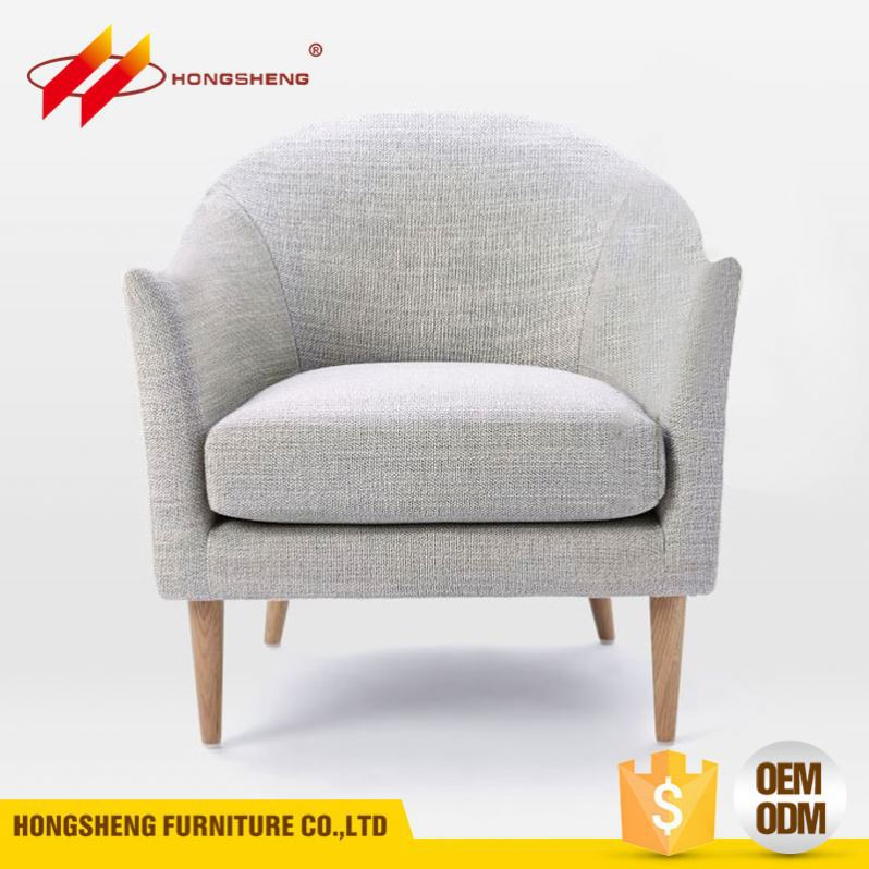 couch single seater one side chair down feather sofa sectional