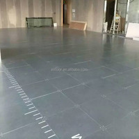 Steel cementitious raised access floor bare panel