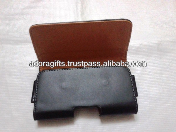 ADALMC - 0015 leather mobile phone wallet cover / perfect soft mobile phone cases/ cell phone pouch