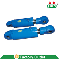 JULY telescopic/boom/jit hydraulic cylinder with competitive price and quality