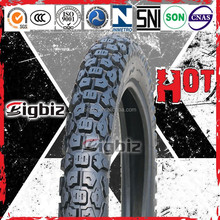 Motorcycle tubeless tyre 3.00-18 with off road motorcycle pattern